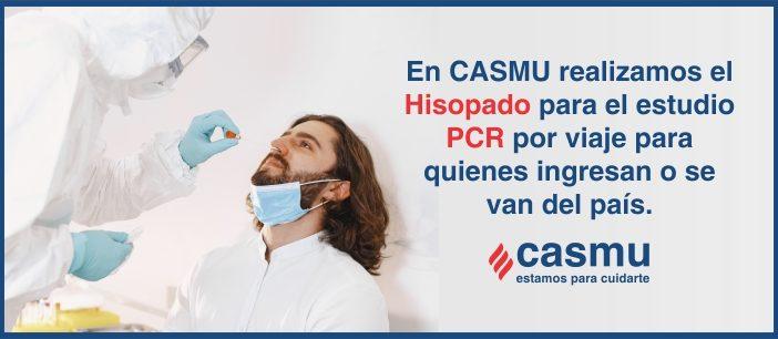 Estudio PCR y Centros de Hisopados CASMU